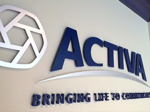 Activa Interior Wall sign