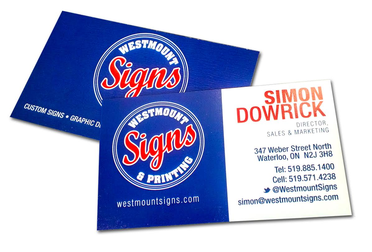 Creating an Attractive Business Card -