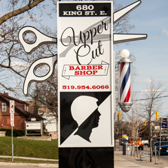 Upper Cut Barber shop Pylon