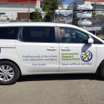 image of the Community Support Connections - Meals on Wheels and More vehicle graphics