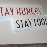 image of the Aunty's Kitchen interior wall sign