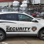image of the CSA Security Response Vehicle Wrap - Right