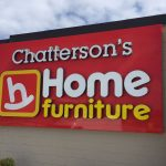 image of the Chatterson's Home Furniture Channel Letter Sign