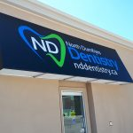 image of the awning at North Dumfries Dentistry