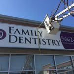 image of wilmot dental care awning