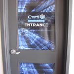 image of Ctrl V Red Deer door graphics