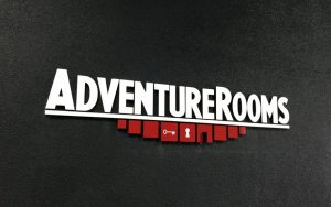 image of adventure rooms custom acrylic signs