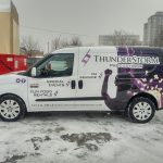 image of the Left Side of the Thunderstorm Productions Vehicle Wrap