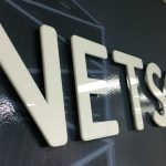 image of the Interior Sign for Netscout
