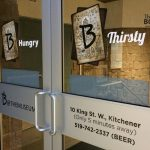 image of B Hospitality's Door Graphics