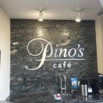 image of Pino's Cafe's Interior Wall Graphic