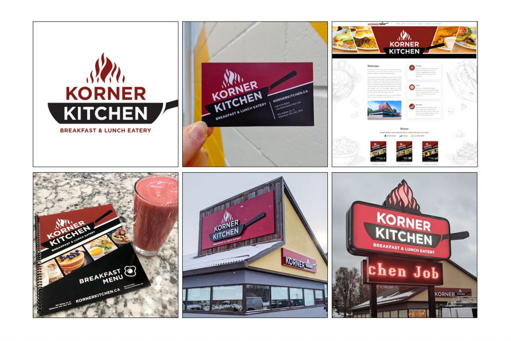 Branding for Korner Kitchen