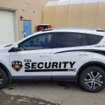 image of the CSA Security Response Vehicle Wrap - Left