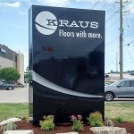 image of the Kraus Flooring ground sign