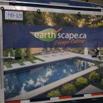 image of Earthscape's Vehicle Wrap